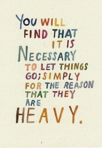 things are heavy