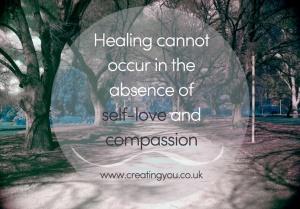 healing when