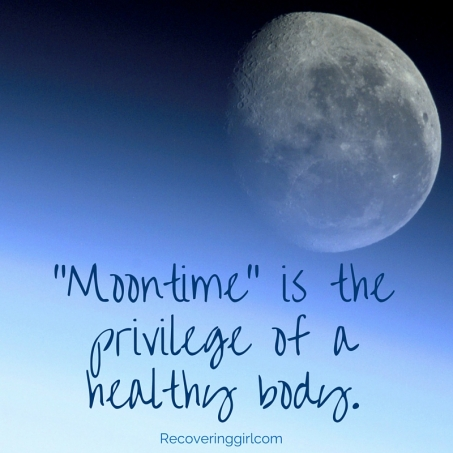 -Moontime- is a privilege